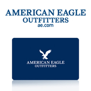 2 American Eagle gift cards each contain $ 50.00 - selling for $45.00